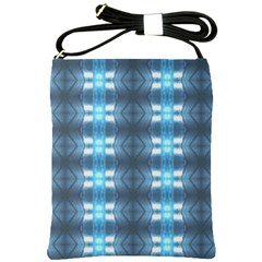 Blue Diamonds Of The Sea 1 Shoulder Sling Bags by yoursparklingshop