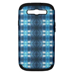 Blue Diamonds Of The Sea 1 Samsung Galaxy S Iii Hardshell Case (pc+silicone) by yoursparklingshop