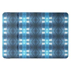 Blue Diamonds Of The Sea 1 Samsung Galaxy Tab 8 9  P7300 Flip Case by yoursparklingshop