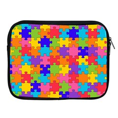 Funny Colorful Jigsaw Puzzle Apple Ipad 2/3/4 Zipper Cases by yoursparklingshop