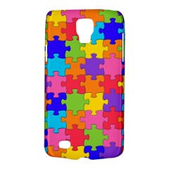Funny Colorful Jigsaw Puzzle Galaxy S4 Active by yoursparklingshop