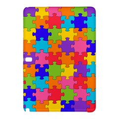 Funny Colorful Jigsaw Puzzle Samsung Galaxy Tab Pro 10 1 Hardshell Case by yoursparklingshop