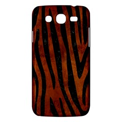 Skin4 Black Marble & Brown Burl Wood Samsung Galaxy Mega 5 8 I9152 Hardshell Case  by trendistuff