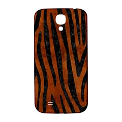 Skin4 Black Marble & Brown Burl Wood Samsung Galaxy S4 I9500/i9505  Hardshell Back Case by trendistuff