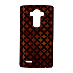 Circles3 Black Marble & Brown Burl Wood (r) Lg G4 Hardshell Case by trendistuff