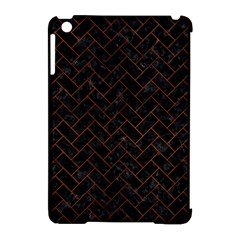 BRK2 BK MARBLE BURL Apple iPad Mini Hardshell Case (Compatible with Smart Cover) by trendistuff