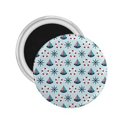 Nautical Elements Pattern 2.25  Magnets by TastefulDesigns