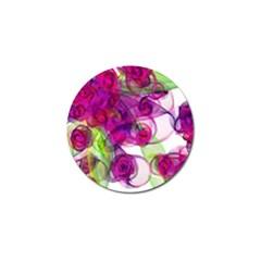 Violet Golf Ball Marker by SugaPlumsEmporium
