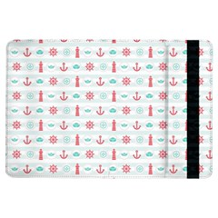 Seamless Nautical Pattern Ipad Air Flip by TastefulDesigns