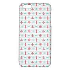 Seamless Nautical Pattern Iphone 6 Plus/6s Plus Tpu Case by TastefulDesigns
