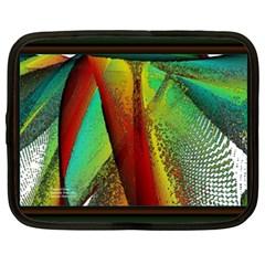 Stained Glass Window Netbook Case (xxl)  by SugaPlumsEmporium
