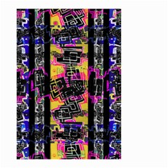 Urban Tribal Stripes Small Garden Flag (two Sides) by dflcprints