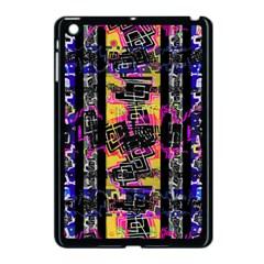 Urban Tribal Stripes Apple Ipad Mini Case (black) by dflcprints