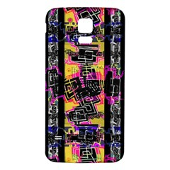 Urban Tribal Stripes Samsung Galaxy S5 Back Case (white) by dflcprints