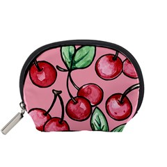 Cherry Pattern Accessory Pouches (small)  by BubbSnugg