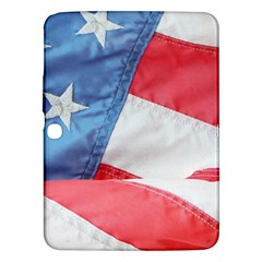 Folded American Flag Samsung Galaxy Tab 3 (10 1 ) P5200 Hardshell Case  by StuffOrSomething