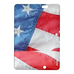Folded American Flag Kindle Fire Hdx 8 9  Hardshell Case by StuffOrSomething