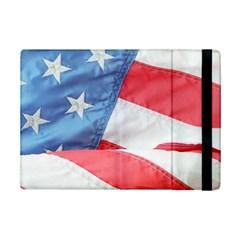 Folded American Flag Ipad Mini 2 Flip Cases by StuffOrSomething