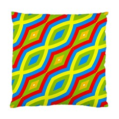 Colorful Chains                    	standard Cushion Case (two Sides) by LalyLauraFLM