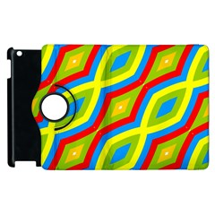 Colorful Chains                    apple Ipad 3/4 Flip 360 Case by LalyLauraFLM