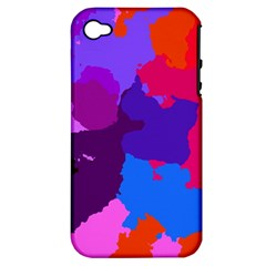 Spots                     			apple Iphone 4/4s Hardshell Case (pc+silicone) by LalyLauraFLM