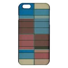 Rectangles In Retro Colors Pattern                      iphone 6 Plus/6s Plus Tpu Case