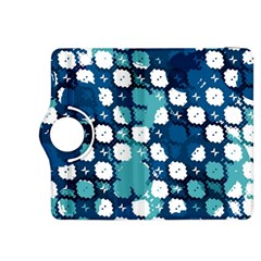 Blue Texture                       			kindle Fire Hdx 8 9  Flip 360 Case by LalyLauraFLM