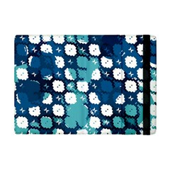 Blue Texture                       			apple Ipad Mini 2 Flip Case by LalyLauraFLM