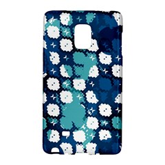 Blue Texture                       			samsung Galaxy Note Edge Hardshell Case by LalyLauraFLM