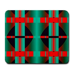 Vertical Stripes And Other Shapes                        large Mousepad by LalyLauraFLM