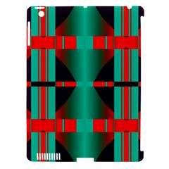 Vertical Stripes And Other Shapes                        apple Ipad 3/4 Hardshell Case (compatible With Smart Cover) by LalyLauraFLM