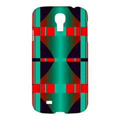 Vertical Stripes And Other Shapes                        			samsung Galaxy S4 I9500/i9505 Hardshell Case by LalyLauraFLM