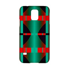 Vertical Stripes And Other Shapes                        samsung Galaxy S5 Hardshell Case by LalyLauraFLM