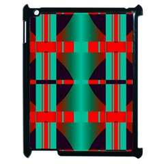 Vertical Stripes And Other Shapes                        			apple Ipad 2 Case (black) by LalyLauraFLM