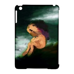 Hand Painted Lonliness Illustration Apple iPad Mini Hardshell Case (Compatible with Smart Cover) by TastefulDesigns