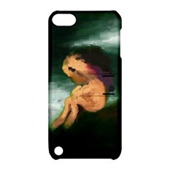 Hand Painted Lonliness Illustration Apple Ipod Touch 5 Hardshell Case With Stand