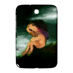 Hand Painted Lonliness Illustration Samsung Galaxy Note 8 0 N5100 Hardshell Case