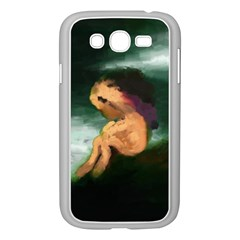 Hand Painted Lonliness Illustration Samsung Galaxy Grand DUOS I9082 Case (White) by TastefulDesigns