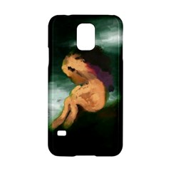 Hand Painted Lonliness Illustration Samsung Galaxy S5 Hardshell Case