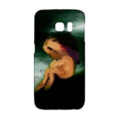 Hand Painted Lonliness Illustration Galaxy S6 Edge by TastefulDesigns