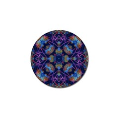 Ornate Mosaic Golf Ball Marker (4 Pack) by dflcprints
