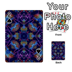 Ornate Mosaic Playing Cards 54 Designs