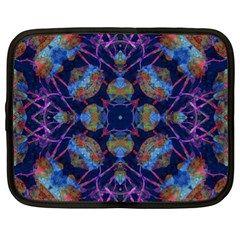 Ornate Mosaic Netbook Case (xl)  by dflcprints