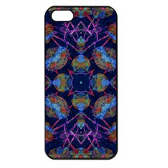 Ornate Mosaic Apple Iphone 5 Seamless Case (black) by dflcprints