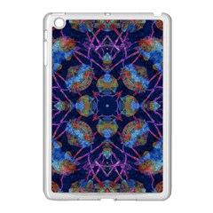 Ornate Mosaic Apple Ipad Mini Case (white) by dflcprints