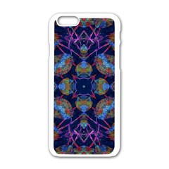 Ornate Mosaic Apple Iphone 6/6s White Enamel Case by dflcprints