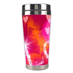 Love Stainless Steel Travel Tumblers by SugaPlumsEmporium