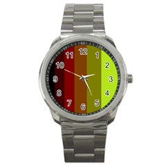 Stripes Sport Metal Watch