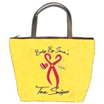 Tee Snips zipper bag - Bucket Bag