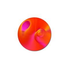 Orange Cream Golf Ball Marker (4 Pack) by SugaPlumsEmporium